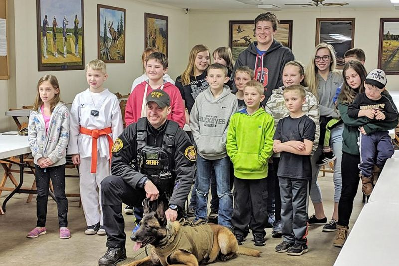 4-H meeting hosts K-9 c