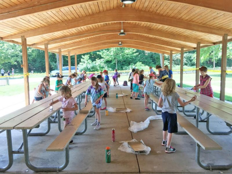 Christmas Run Park.Area Girl Scouts Create Some Magic At Christmas The