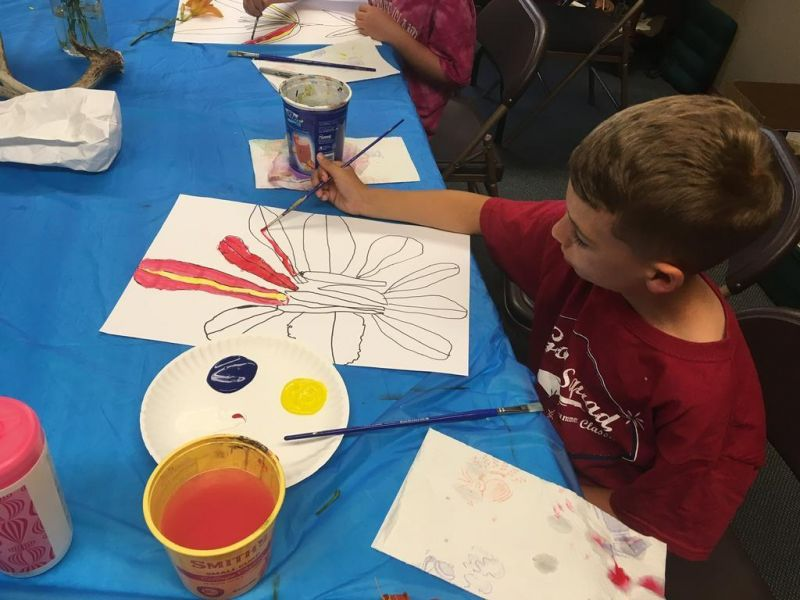 Art classes geared for home-schooled students