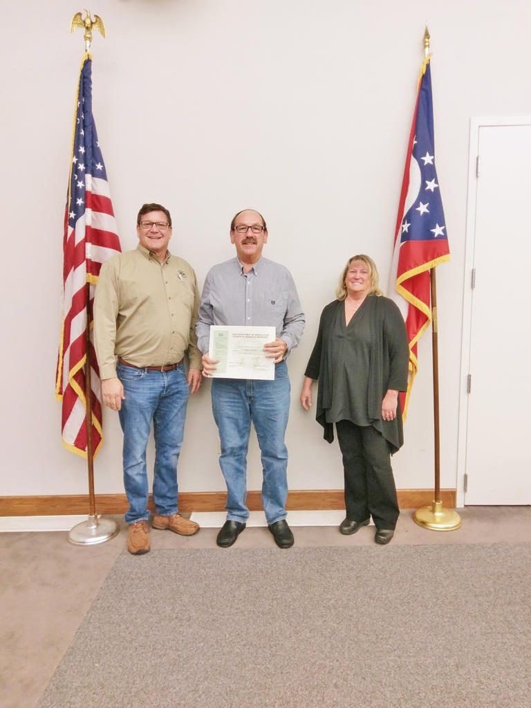 Awards ceremony held for the Ohio Weight & Measures officials