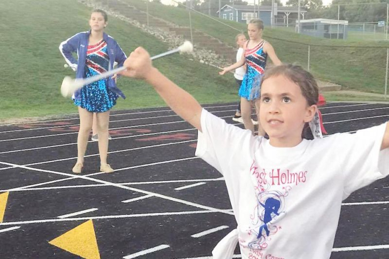 Baton twirling offered at Holmes Center for the Arts