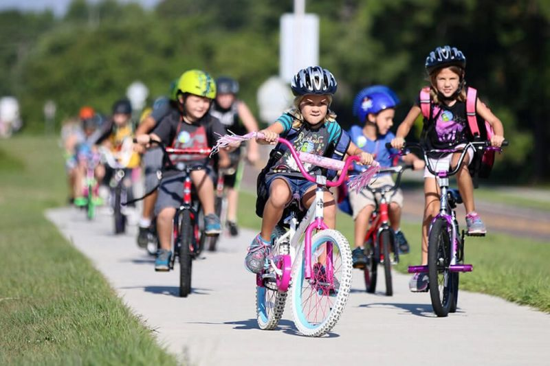 Bicycle Rodeo and helmet giveaway promotes safety