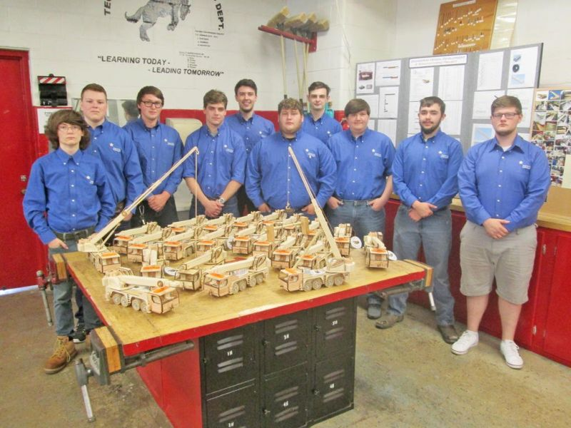Capstone project a success for local engineering students