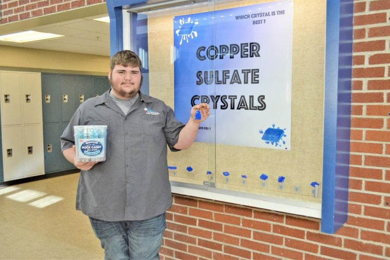 Career Center student wins crystal competition