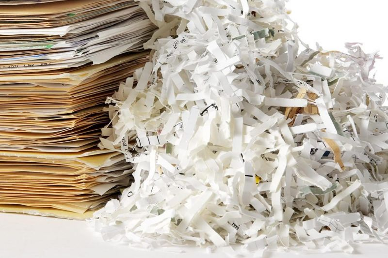 Dalton Library has 2 shred events scheduled for May