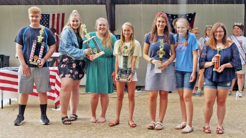 Galloway takes top spot at the Fireworks  Festival Talent Show