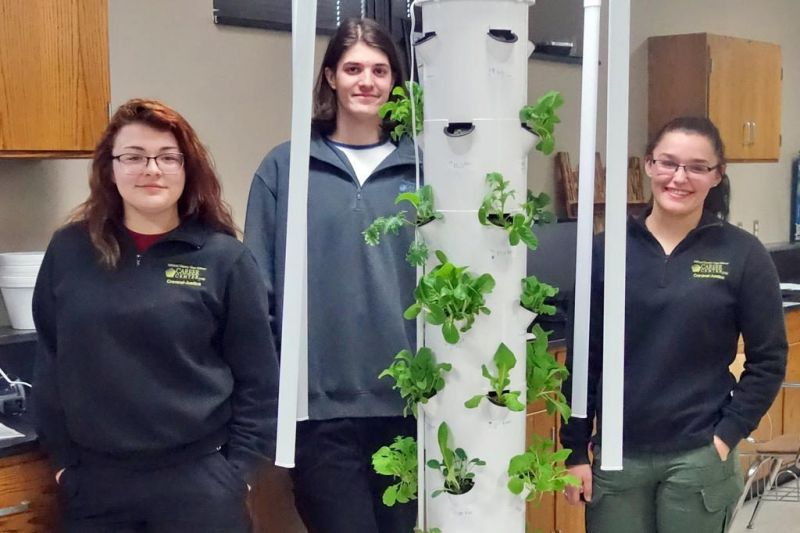 Garden brings real-world skills and hands-on learning