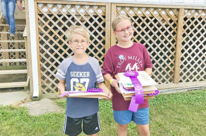 Grace and Isaac Cerniglia continue a 4-H family  tradition at Ohio State Fair