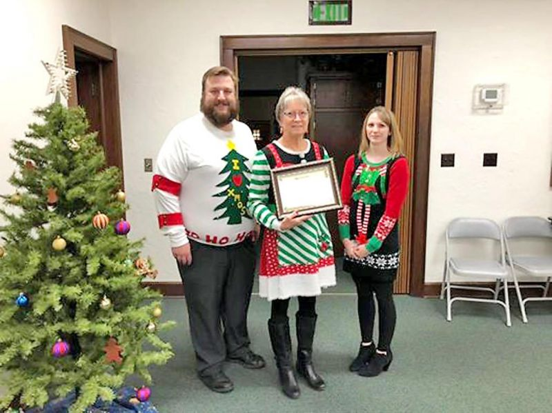 Health department honors 2 members with awards