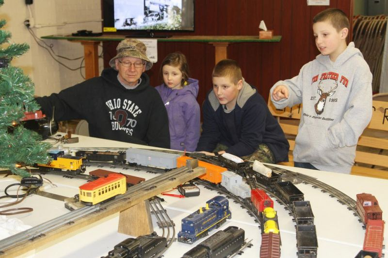 Ice carving, model trains top Mohican Winterfest