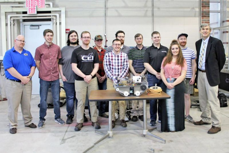 Kent State Tusc engineering  student project aims to help others