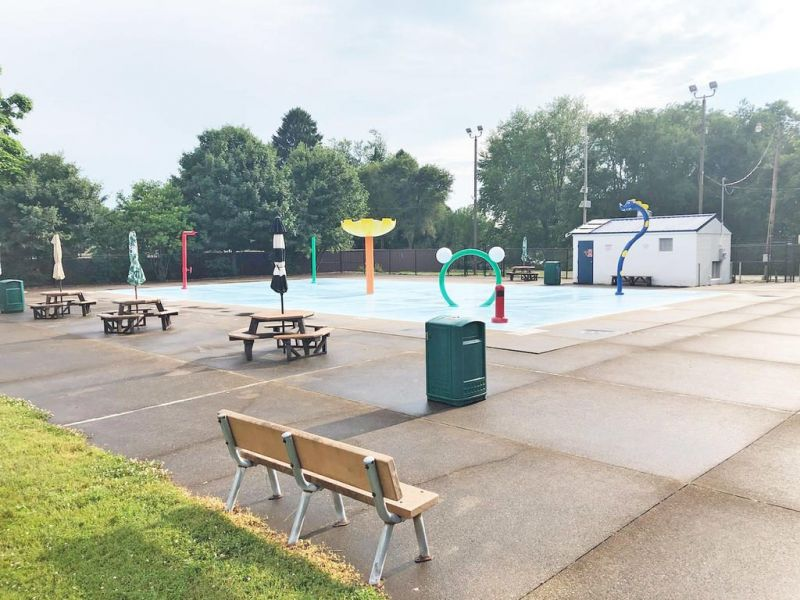Wooster's Knights Field Sprayground now open daily