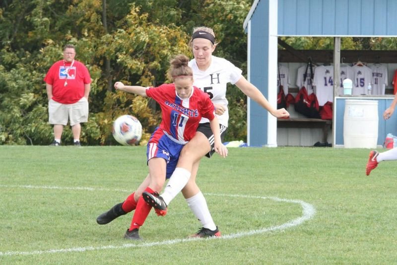 Lady Hawks get offensive in shutout of West Holmes
