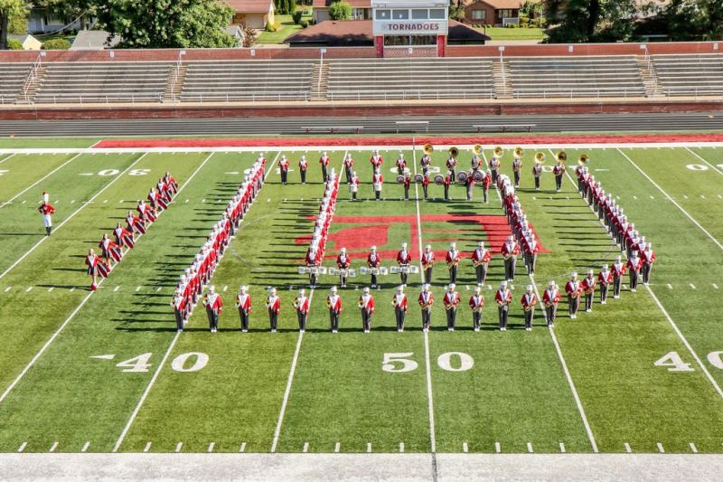 Marching Tornadoes to host 48th annual Dover Band Preview