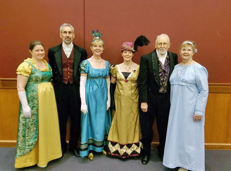 Music and romance abound at Jane Austen Ball