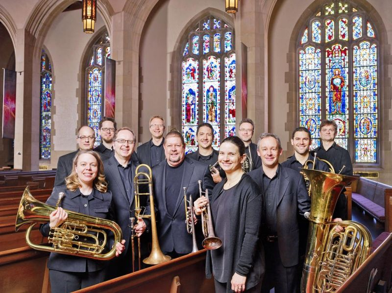 Music on Market presents Burning River Brass