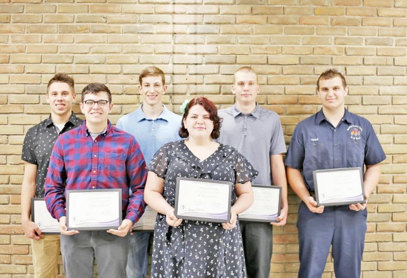 National Technical Honor Society has 6 new members