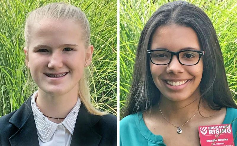 Norwayne girls excel at the  career center