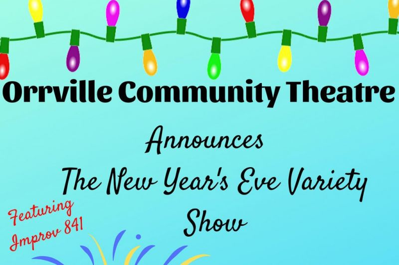 Orr Theatre New Year's Eve variety show
