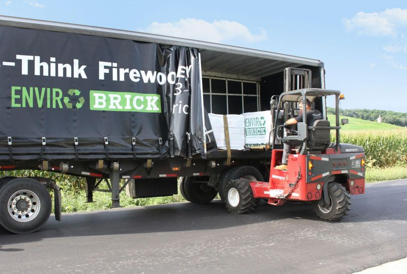 Re-think firewood. A hotter, cleaner solution to heating your home, now delivered to your door