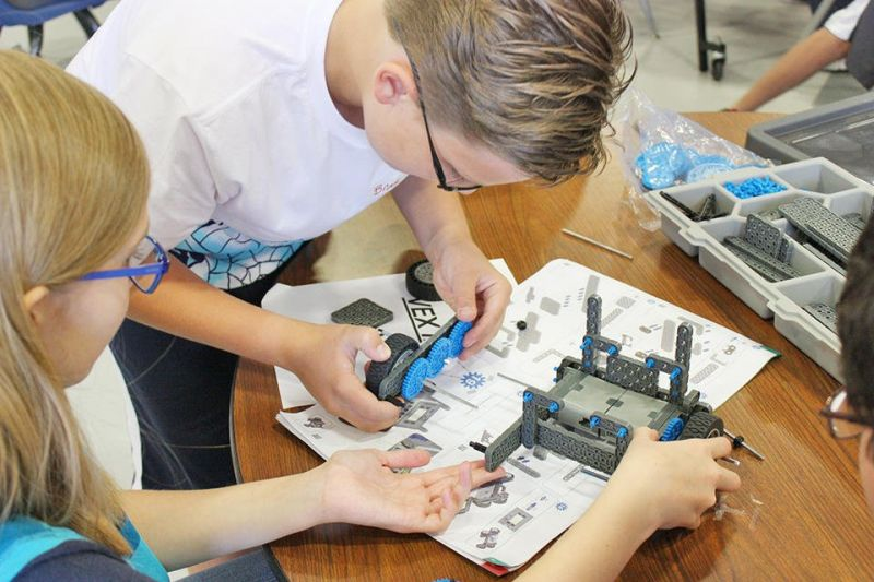 Robotics camp offered at the ACWH Career Center