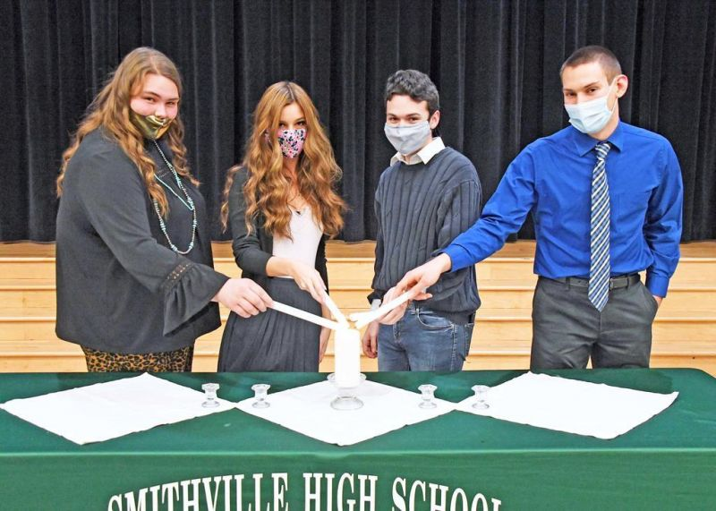 Smithville High inducts 17 into National Honor Society