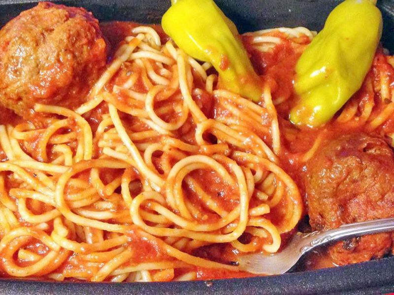 Spaghetti dinner gets spicy in Zoar