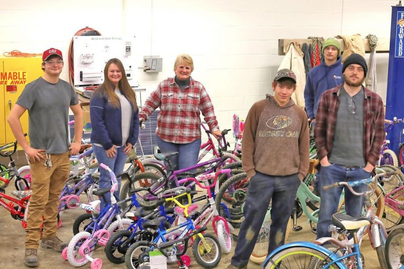 Student-led initiative provides bicycles for local kids