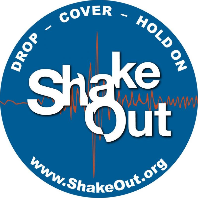 The Great ShakeOut drill helps prepare for disaster