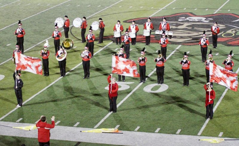 The Orrville drumline has much to be excited about