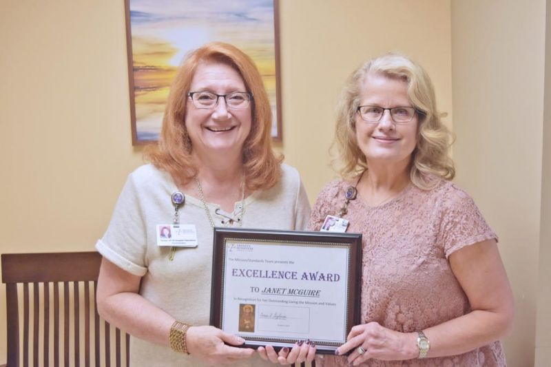 Trinity recognized its fifth annual Excellence Award winner