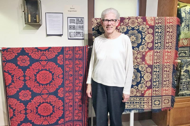 WCHS to feature 'Wayne County Coverlets and their Weavers'