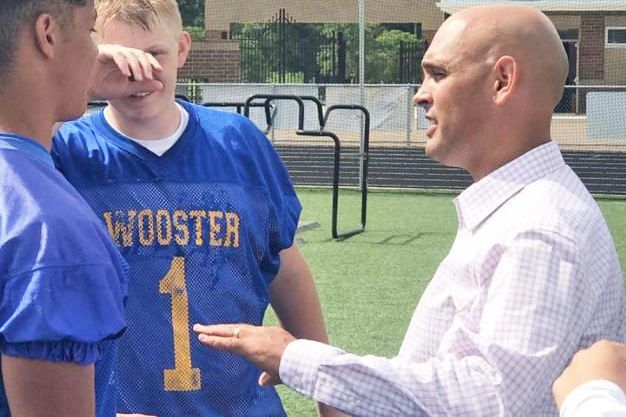 Wooster AD Rubino's first year was crazy at start, finish